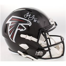 Julio Jones Signed Falcons Full-Size Speed Helmet (Radtke COA)