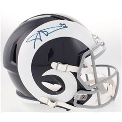 Aaron Donald Signed Rams Full-Size Speed Helmet (JSA COA)