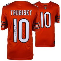 Mitchell Trubisky Signed Bears Nike Jersey (Fanatics Hologram)