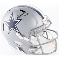 Troy Aikman Signed Cowboys Full-Size Speed Helmet (Beckett COA)