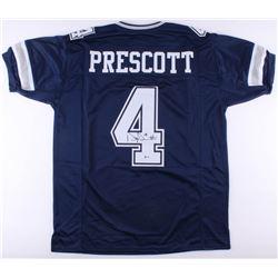 Dak Prescott Signed Cowboys Jersey (Beckett COA)