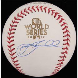 Jeff Bagwell Signed 2017 World Series Baseball (TriStar Hologram)