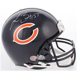Lance Briggs Signed Bears Full-Size Authentic On-Field Helmet (JSA COA)