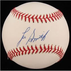Lee Smith Signed OAL Baseball (PSA COA)
