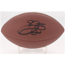 Emmitt Smith Signed NFL Football (Beckett COA  Prova Hologram)