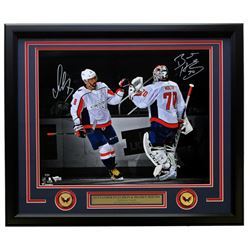 Alexander Ovechkin  Braden Holtby Signed LE Washington Capitals 22x27 Photo (Fanatics Hologram)