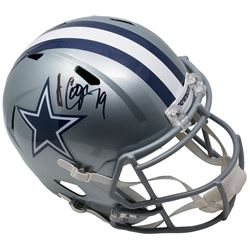 Amari Cooper Signed Dallas Cowboys Full-Size Speed Helmet (JSA COA)