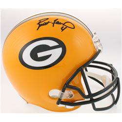 Brett Favre Signed Packers Full-Size Helmet (Radtke COA)