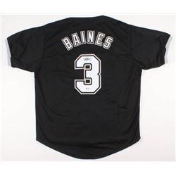 Harold Baines Signed White Sox Jersey (Beckett COA)