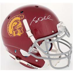 Sam Darnold Signed USC Trojans Full-Size Authentic On-Field Helmet (Beckett COA)