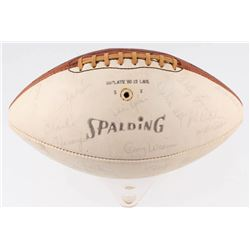 1961 Houston Oilers AFL Champions Football Team-Signed by (35) with Bob Kelly, Julian Spence, Hogan
