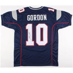Josh Gordon Signed New England Patriots Jersey (JSA COA)