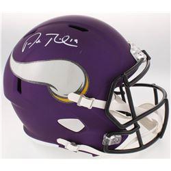 Adam Thielen Signed Vikings Full-Size Speed Helmet (JSA COA)