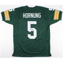 "Paul Hornung Signed Green Bay Packers Jersey Inscribed ""HOF 86"" (JSA Hologram)"