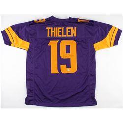 Adam Thielen Signed Minnesota Vikings Jersey (Beckett COA)