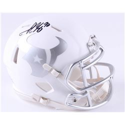 Jadeveon Clowney Signed Texans White ICE Mini Speed Helmet (JSA COA)