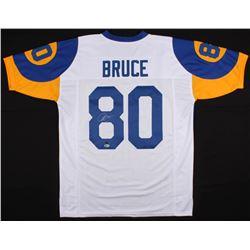Isaac Bruce Signed Los Angeles Rams Jersey (Beckett COA  GTSM Hologram)