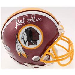 Alex Smith Signed Redskins Mini Helmet (Beckett COA)