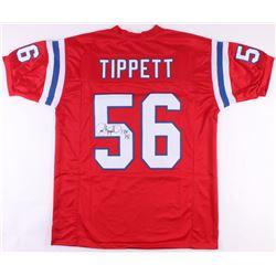 """Andre Tippett Signed Patriots Jersey Inscribed """"HOF '08"""" (JSA COA)"""