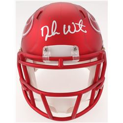 Deshaun Watson Signed Texans Blaze Speed Mini-Helmet (JSA COA  Watson Hologram)