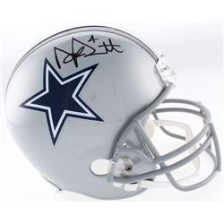 Dak Prescott Signed Cowboys Full-Size Helmet (JSA COA  Dak Prescott Hologram)