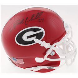 Nick Chubb Signed Georgia Bulldogs Mini-Helmet (JSA COA)