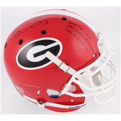 "Roquan Smith Signed Georgia Bulldogs Full-Size Authentic On-Field Helmet Inscribed ""2017 SEC DPOY"","