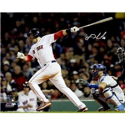 J.D. Martinez Signed 2018 World Series 16x20 Photo (Steiner COA)