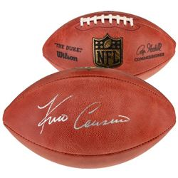 "Kirk Cousins Signed ""The Duke"" Official NFL Game Ball (Fanatics Hologram)"