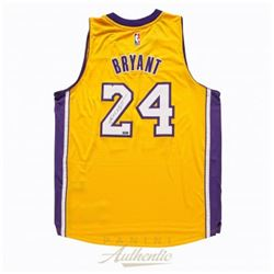 Kobe Bryant Signed Lakers Authentic Adidas Swingmann Jersey (Panini COA)