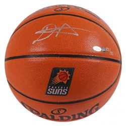 Deandre Ayton Signed LE Suns Logo NBA Game Ball Series Basketball (Game Day Legends COA  Steiner COA