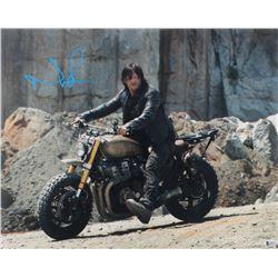 "Norman Reedus Signed ""The Walking Dead"" 16x20 Photo (Beckett COA)"