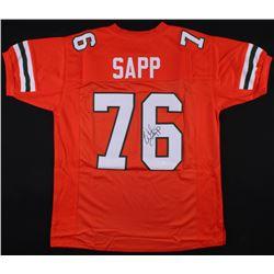 Warren Sapp Signed Miami Hurricanes Jersey (JSA COA)