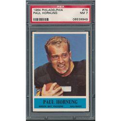 1964 Philadelphia #74 Paul Hornung (PSA 7)