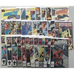 Lot of (71) 1980-1995 Daredevil 1st Volume Comic Books