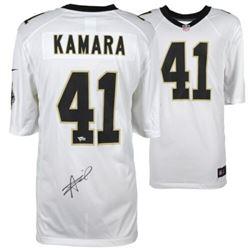 Alvin Kamara Signed Saints Nike Jersey (Fanatics Hologram)