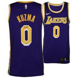 Kyle Kuzma Signed Lakers Jersey (Fanatics Hologram)