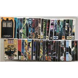 Lot of (44) 1989 DC Batman Legends of the Dark Knight Comic Books