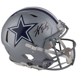 Leighton Vander Esch Signed Cowboys Full-Size Authentic On-Field Speed Helmet (Fanatics Hologram)
