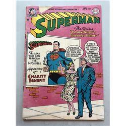 1955 DC Superman #94 1st Volume Comic Book