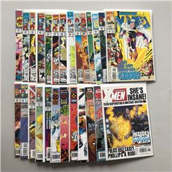 Lot of (26) Marvel Uncanny X-Men 1st Series Comic Books
