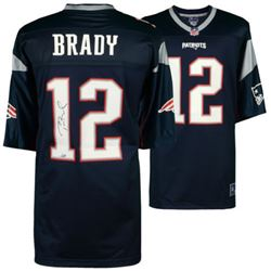 Tom Brady Signed New England Patriots Jersey (TriStar Hologram)