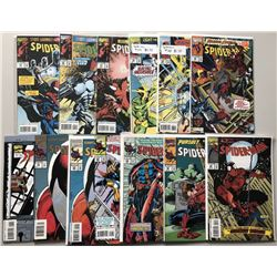 Lot of (26) 1993-1996 Marvel Spider-Man Comic Books
