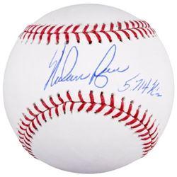 """Nolan Ryan Signed Baseball Inscribed """"5714 K's"""" (Fanatics Hologram)"""