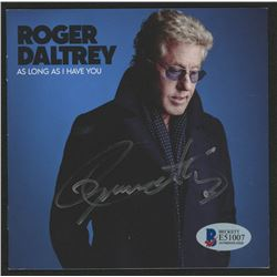 """Roger Daltrey Signed """"As Long As I Have You"""" CD Booklet (Beckett COA)"""