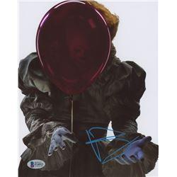 """Bill Skarsgard Signed """"It"""" 8x10 Photo (Beckett COA)"""
