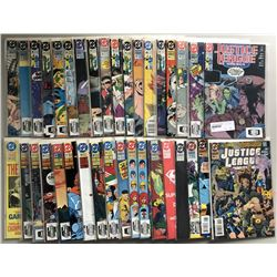Lot of (70) 1987 Marvel Justice League Comic Books