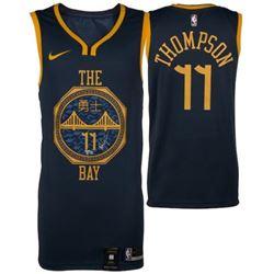 "Klay Thompson Signed Warriors ""The Bay"" City Edition Nike Jersey (Fanatics Hologram)"