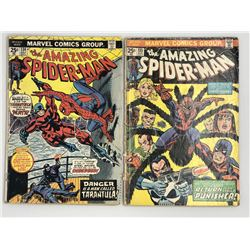 Lot of (2) 1974 Marvel Amazing Spider-Man 1st Series Comic Books with #134  #135
