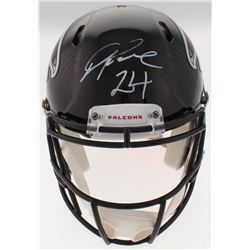 Devonta Freeman Signed Falcons Full-Size Authentic On-Field Speed Helmet (Radtke COA)